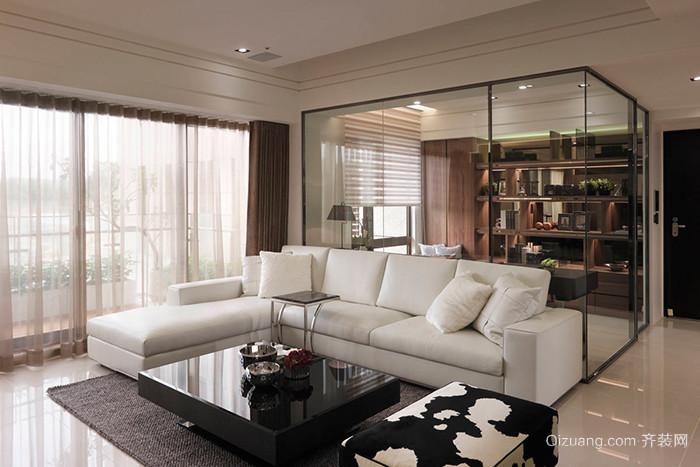 简欧风格精美温馨大户型室内装修效果图