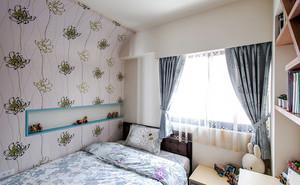 99平米现代风格温馨三室两厅装修效果图赏析