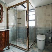 美式风格经典卫生间设计装修效果图赏析