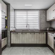 现代风格精致整体厨房设计装修效果图