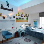 现代风格精美儿童房设计装修效果图