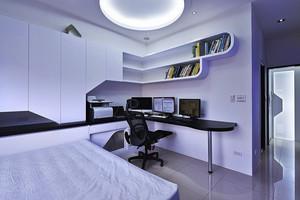 现代简约风格一居室室内设计装修效果图