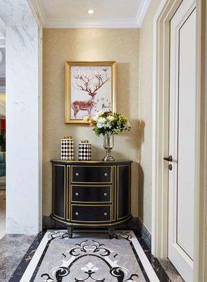 新古典主义风格精美玄关柜设计效果图