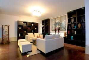 178平米中式风格精致复式楼室内装修效果图