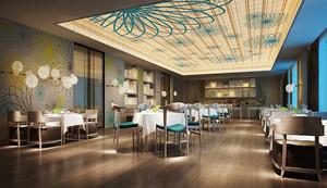 现代风格精美餐厅设计装修效果图