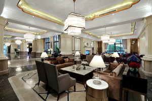 欧式风格酒店餐厅设计装修效果图