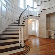 法式风格精致别墅楼梯设计装修效果图