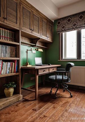 美式乡村风格精致书房装修效果图