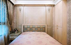 86平米欧式风格精致两室两厅室内装修效果图