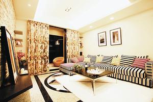 现代风格时尚两室两厅室内设计装修效果图