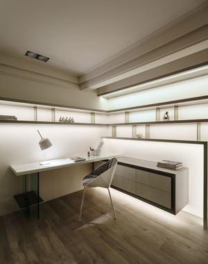 现代风格精致书房设计装修实景图