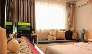 新中式风格两室两厅室内设计装修效果图