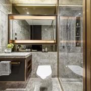 新中式风格精致卫生间装修效果图鉴赏
