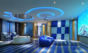 现代风格精致主题酒店客房设计装修效果图