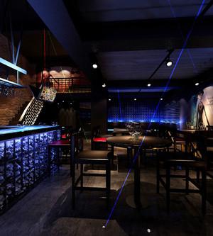 现代风格精致音乐酒吧装修效果图
