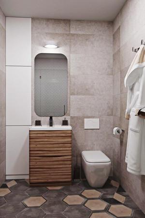 62平米简约风格精致公寓设计装修效果图