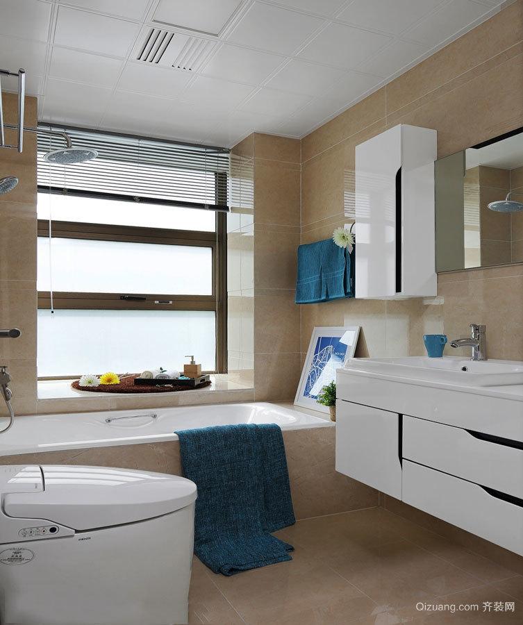 简约风格精致卫生间设计装修效果图赏析
