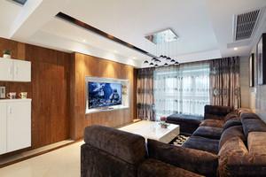 现代风格精致两室两厅室内设计装修效果图