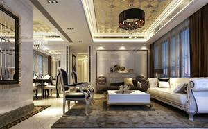 100平米新古典主义风格室内设计装修效果图