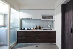 75平米新中式风格两室两厅室内装修效果图