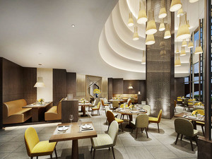 精美高雅现代风格餐厅设计装修图