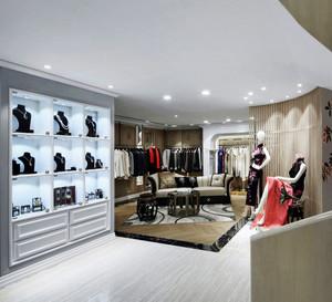 精美欧式风格服装店设计装修图