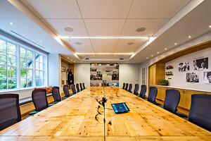 实用现代风格多功能会议室装修效果图