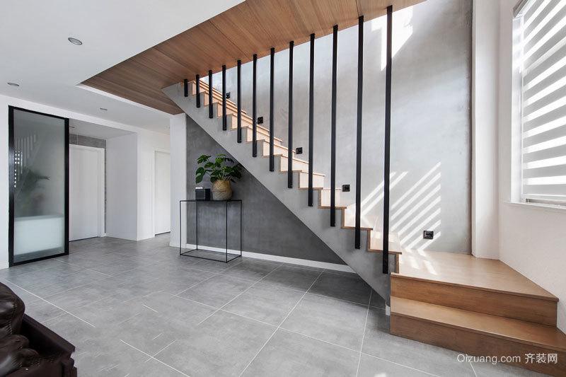 时尚北欧风格简约楼梯设计装修效果图