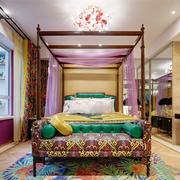 个性创意混搭风格卧室设计装修效果图