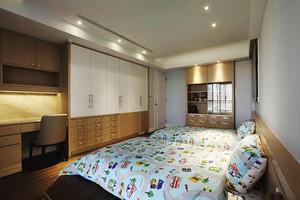 典雅精美简欧风格三室两厅室内设计装修效果图
