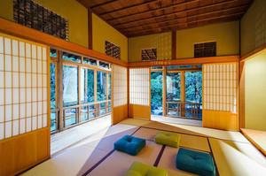 禅意日式风格精美榻榻米装修效果图