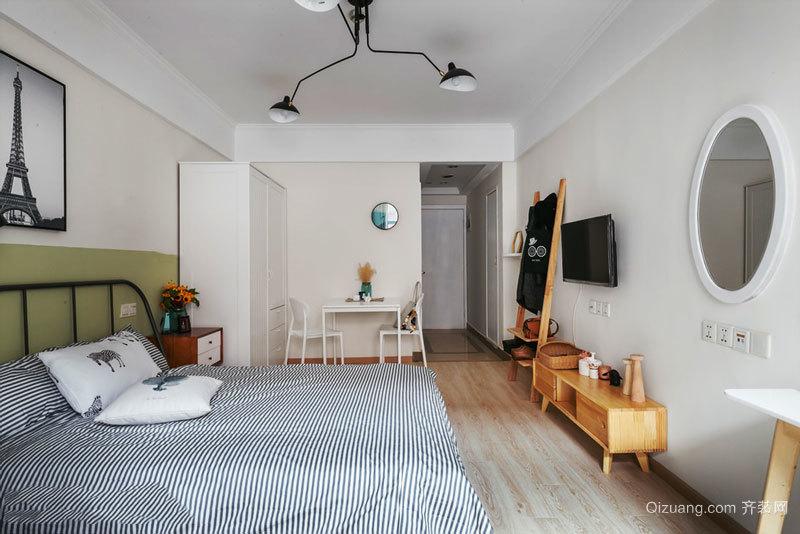 简约舒适简约风格卧室设计装修效果图