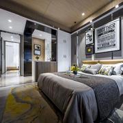时尚创意现代风格卧室设计装修图