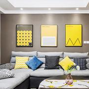 精美时尚现代风格小户型客厅装修图