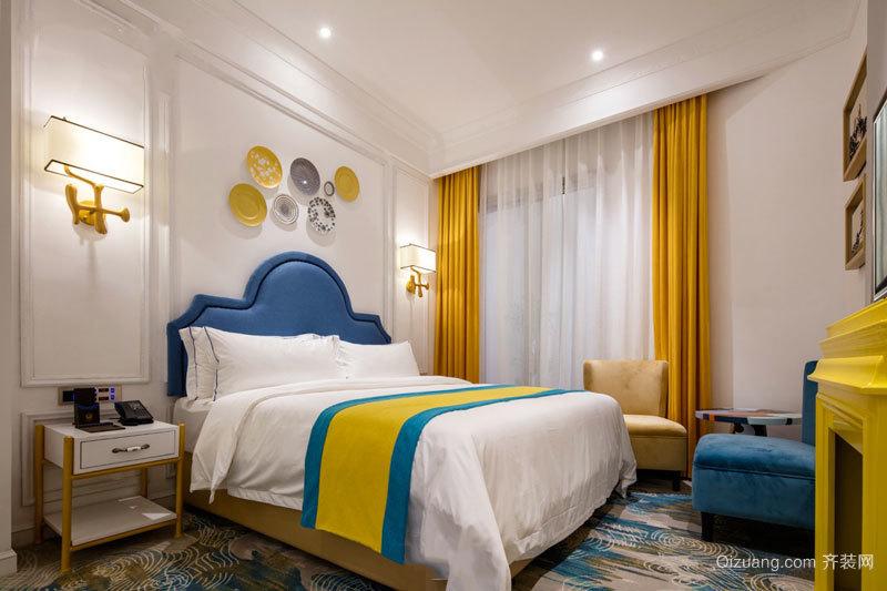 典雅时尚新古典主义风格卧室装修效果图