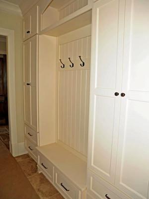 欧式风格精美玄关鞋柜设计效果图大全
