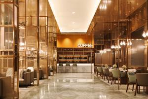 时尚复古风格精美咖啡厅设计装修图