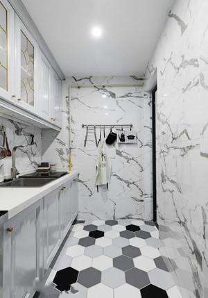 简单时尚北欧风格小户型厨房装修效果图