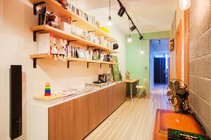 54平米简约风格小公寓装修修图