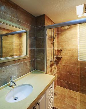 温馨简约美式风格两室两厅室内设计装修图