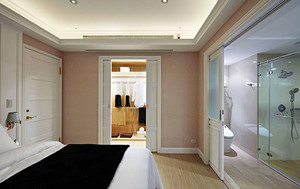 白色经典100平米欧式风格室内装修效果图