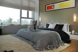 轻松舒适现代简约风格两室两厅装修效果图