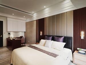 精装现代风格精致三室两厅装修效果图