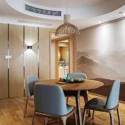 素雅精美新中式风格餐厅装修效果图