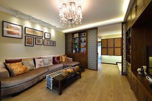 古典精致中式风格大户型室内装修图