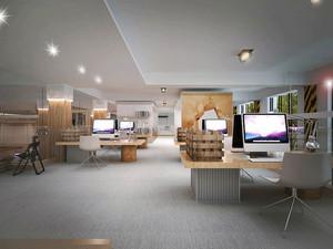 简约现代风格办公室装修设计效果图