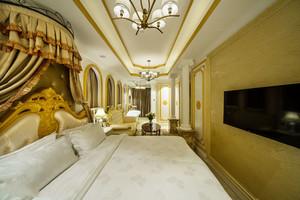 奢华精美欧式风格酒店客房装修效果图