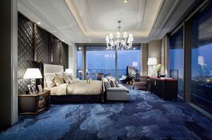 奢华大气欧式风格酒店客房装修效果图