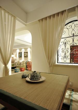 创意精美混搭风格精致两室两厅室内装修效果图