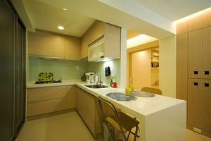 温馨简约现代风格两室两厅室内装修效果图